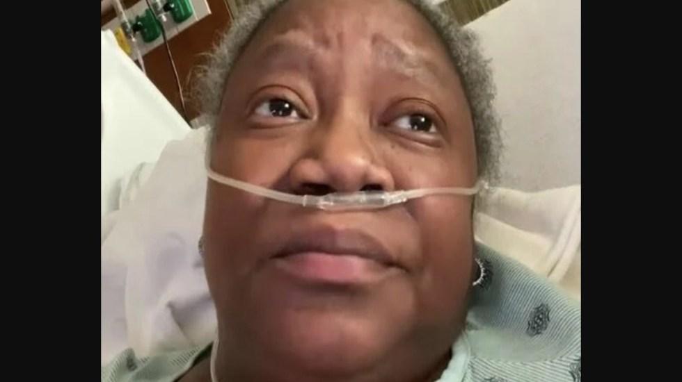 Muere por COVID-19 doctora negra que denunció racismo en hospital de Indiana - Captura de pantalla