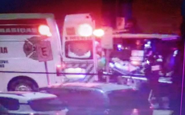 Balacera en supermercado de Edomex deja un herido - Vigilante herido en balacera en supermercado. Foto de @GobIzcalli