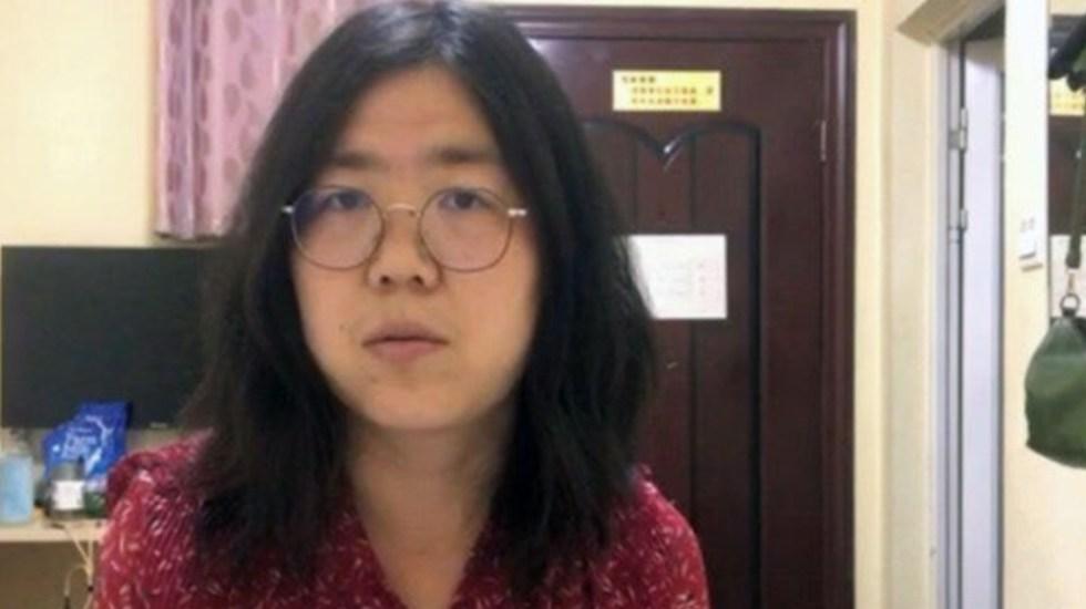 China condena a cuatro años de cárcel a periodista que informó del COVID-19 en Wuhan - Foto de Internet