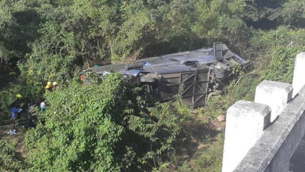 Diez muertos y 25 heridos al caer un autobús por un puente en oeste de Cuba - Foto de Radio Rebelde Cuba