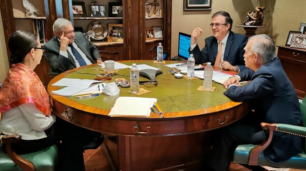 AMLO conversa con Biden sobre migración, COVID-19 y cooperación entre México y EE.UU. - AMLO conversa con Biden sobre migración, COVID-19 y cooperación entre México y EE.UU. Foto Twitter @lopezobrador_