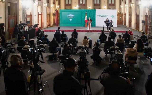 """Presentarán protocolo para contagios de COVID-19 en Presidencia; """"yo me cuido"""", afirma López Obrador - Foto de lopezobrador.org.mx"""