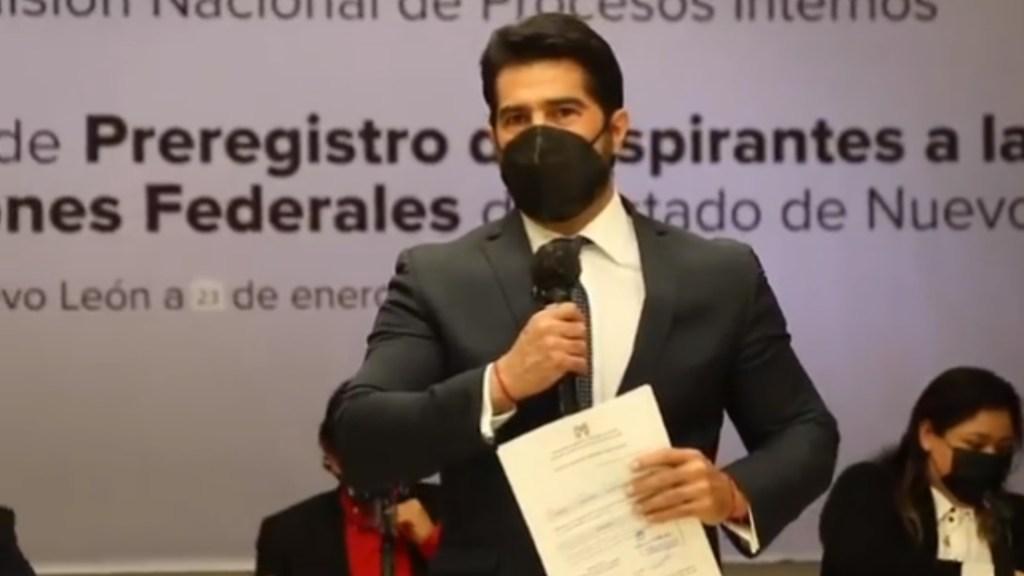 El actor y exfutbolista Arturo Carmona buscará diputación con el PRI - Arturo Carmona PRI Candidato Nuevo León