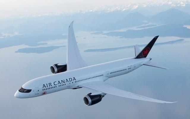 Air Canada descarta operaciones en aeropuerto de Santa Lucía - Foto de @AirCanada