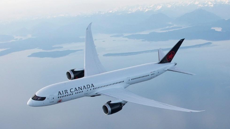 Inicia Canadá suspensión de vuelos con México y el Caribe - Foto de @AirCanada