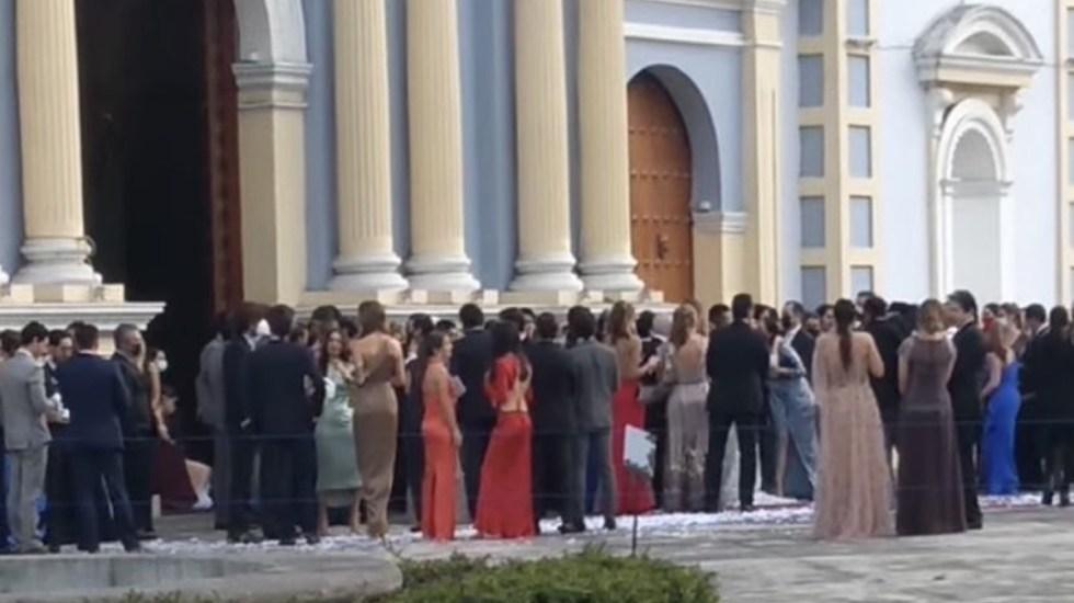 Celebran XV años y boda en Veracruz pese a pandemia - Boda en Córdoba, Veracruz. Foto de @Carlosf70510556