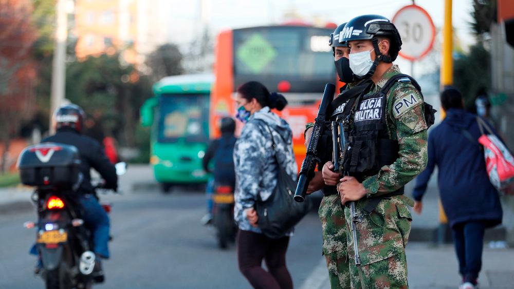 Bogotá declara alerta roja por posible presencia de nueva cepa de COVID-19 - Foto de EFE