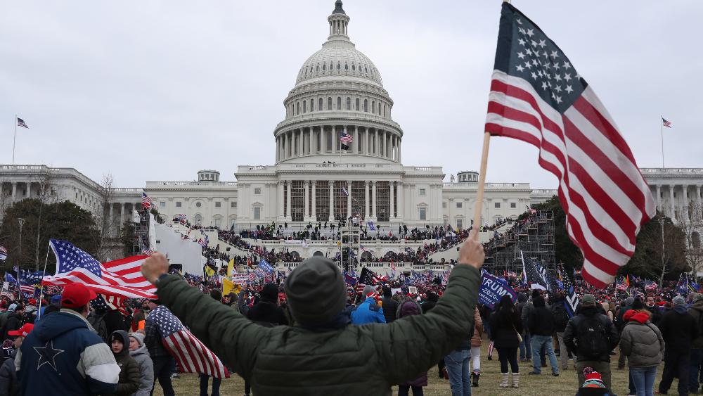 La mayoría de los estadounidenses repudia el asalto al Congreso - Foto de EFE