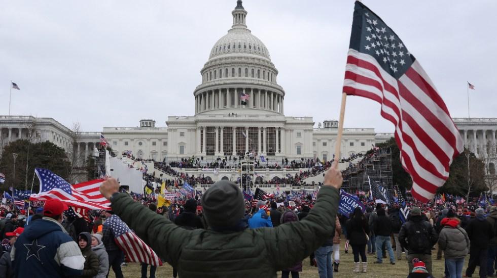 FBI detiene a un funcionario de Trump por toma del Capitolio - Foto de EFE