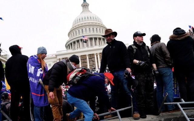 Inicia toque de queda en Washington DC tras toma del Capitolio - Foto de EFE