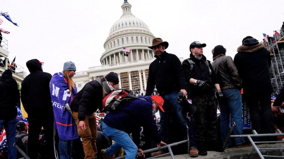 Foros radicales preparan una segunda toma del Capitolio y protestas armadas previo a la inauguración de Joe Biden - Foto de EFE