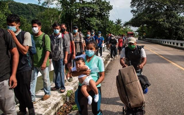 Nueva caravana de migrantes hondureños iniciará su camino hacia EE.UU. - Foto de EFE