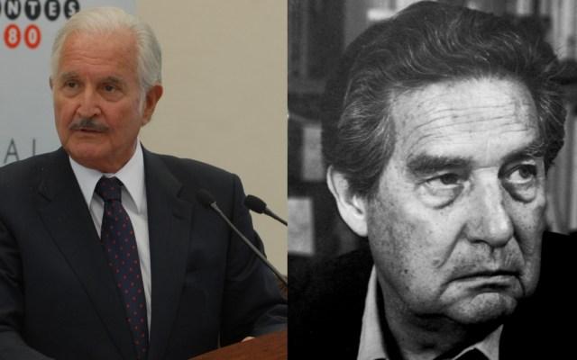 """Octavio Paz y Carlos Fuentes, """"dos maneras de ver el mundo"""" que terminaron con su amistad"""