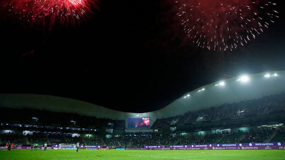 Mazatlán FC abrirá su estadio en juego contra Pachuca con 45 por ciento de aficionados - Club Mazatlán abrirá su estadio con 45 por ciento de aficionados. Foto Twitter @MazatlanFC