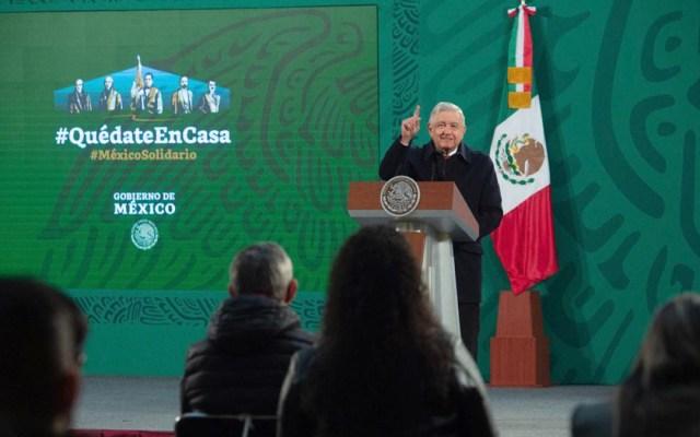 Acusa Jesús Ramírez a Lorenzo Córdova de atacar la libertad de expresión del presidente - Conferencia matutina de AMLO. Foto de Gobierno de México