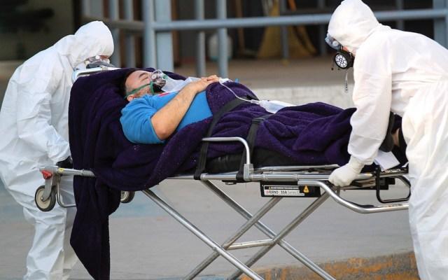 En las últimas 24 horas, México registró 8 mil 74 casos nuevos y 544 muertes por COVID-19 - Foto de EFE