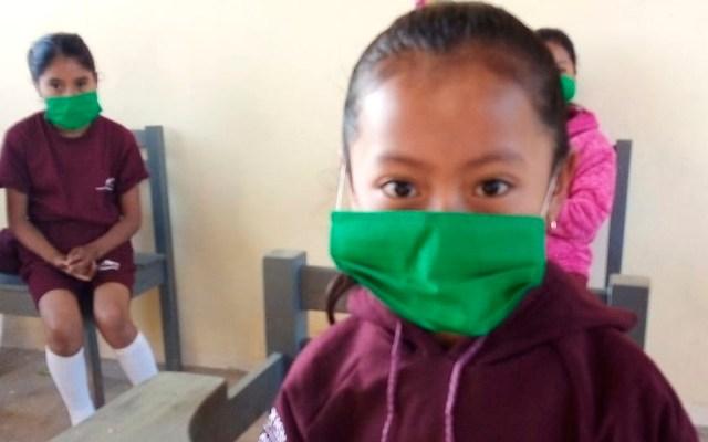 Continúan clases presenciales en Chiapas pese a regreso al Semáforo Amarillo - Continúan clases presenciales en Chiapas, a pesar de repunte de COVID-19. Foto Twitter @SEP_mx