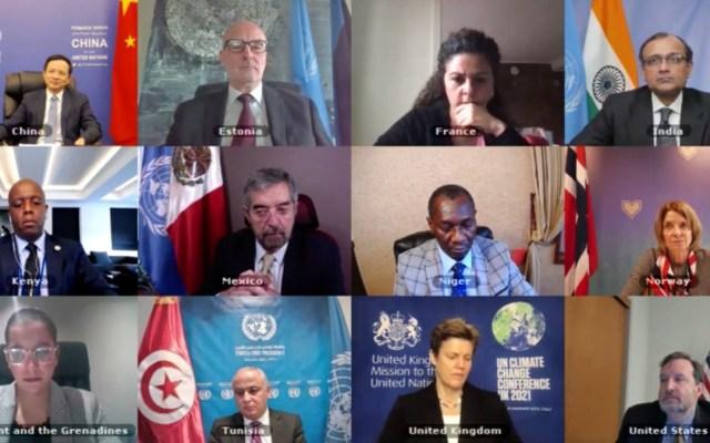 México condena ante Consejo de Seguridad de la ONU uso de armas químicas en Siria - Discusión del Consejo de Seguridad de la ONU sobre uso de armas químicas. Foto de @irishmissionun