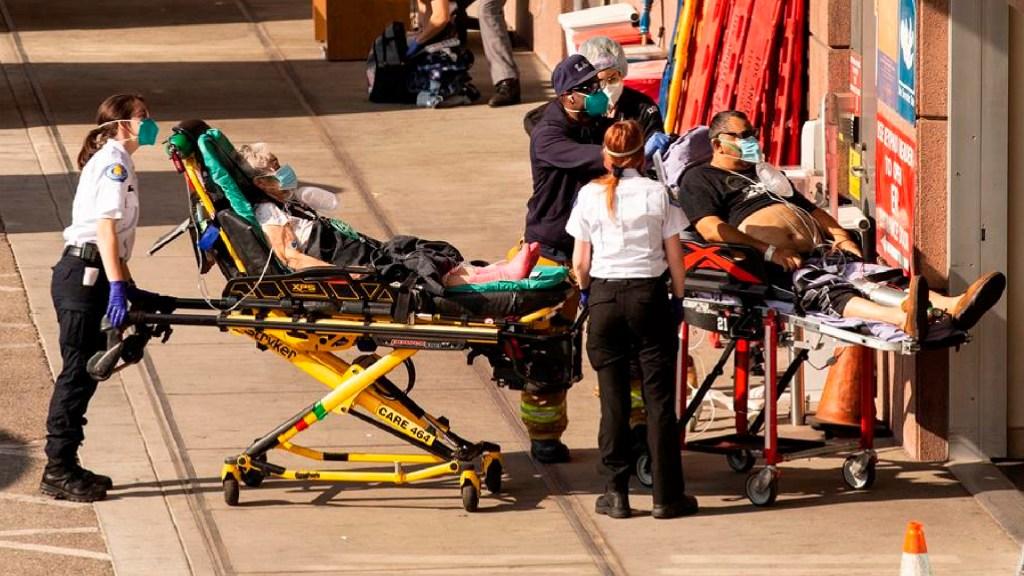 EE.UU. supera los 440 mil decesos por COVID-19; en enero murieron más de 90 mil personas - EE.UU. supera los 440 mil decesos por COVID-19; en enero murieron más de 90 mil personas. Foto EFE