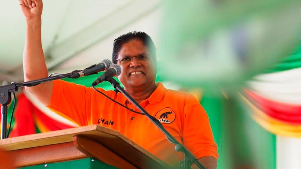 El presidente de Surinam, Chandrikapersad Santokhi, da positivo a COVID-19 - El presidente de Surinam Chandrikapersad Santokhi da positivo a COVID-19. Foto EFE