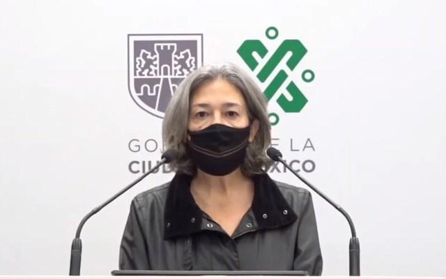 """Descarta Sheinbaum remover a Florencia Serranía como directora del Metro; """"es muy competente"""", asegura - Florencia Serranía, directora del Metro CDMX. Captura de pantalla"""