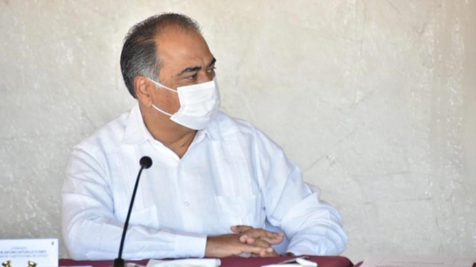 Exhorta gobernador Astudillo a alcaldes reforzar medidas contra COVID-19 por Semáforo Rojo - Gobernador de Guerrero, Héctor Astudillo. Foto de @Gob_Guerrero