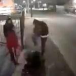 #Video Propinan golpiza a sujeto armado que amenazó a familia en Coacalco