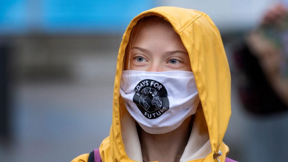 Greta Thunberg llega a la mayoría de edad como referente de lucha climática - Foto de EFE