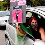Grupos de derecha exigen destitución de Bolsonaro en las calles de Sao Paulo - Grupos de derecha también piden la destitución de Bolsonaro en las calles. Foto EFE