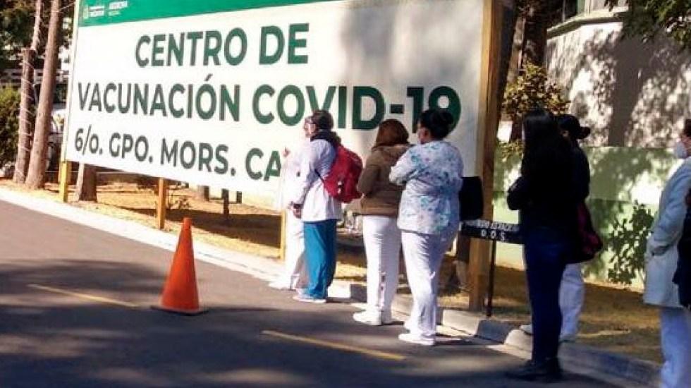 IMSS ha pagado bono COVID a 161 mil 807 trabajadores de Salud - IMSS ha pagado bono COVID a 161 mil 807 trabajadores en hospitales por pandemia. Foto Twitter @Claudiashein