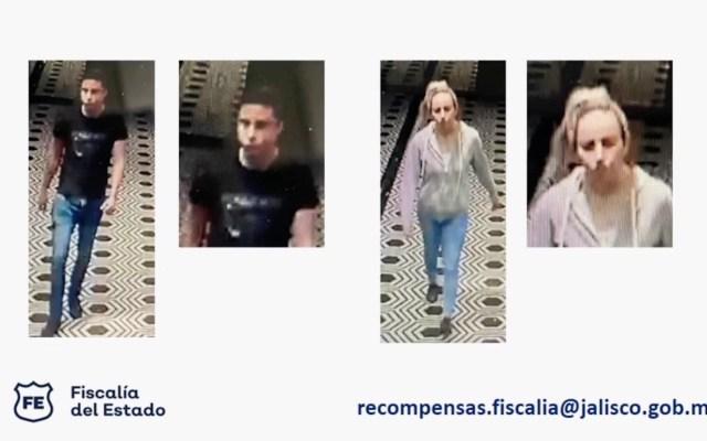 Fiscalía de Jalisco identifica a dos personas involucradas en asesinato de Aristóteles Sandoval; ofrece recompensa de un millón de pesos - Captura de pantalla