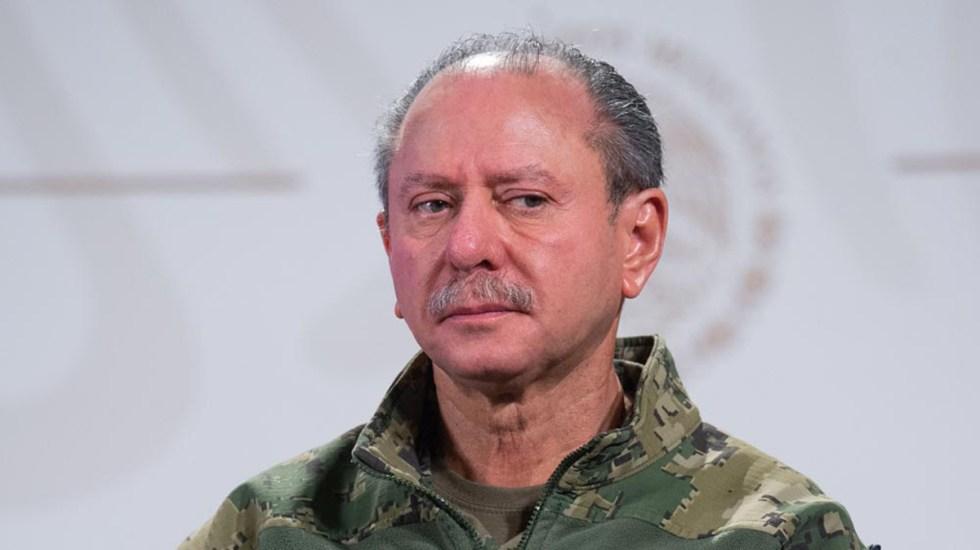 Informa AMLO que secretario de Marina ya fue dado de alta tras contagio de COVID-19 - José Rafael Ojeda Durán Semar Marina