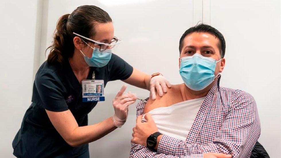 Vacunación contra COVID-19 avanza lentamente en Estados Unidos - La vacunación contra el COVID-19 avanza lentamente en Estados Unidos. Foto EFE