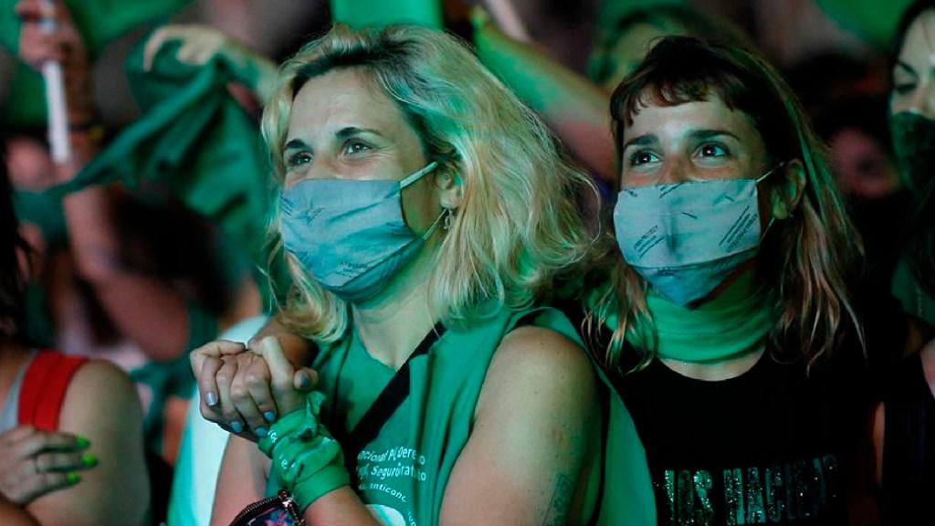 Ley que permite el aborto entra en vigor en Argentina - Ley de interrupción del embarazo entra en vigor este domingo en Argentina. Foto EFE