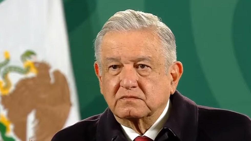 """""""Deseamos que prevalezca la democracia"""", señala AMLO tras toma del Capitolio de EE.UU. - López Obrador en conferencia de prensa del 07 de enero de 2021. Captura de pantalla"""