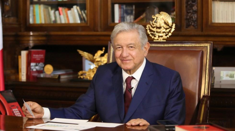 López Obrador conversa con Putin; Rusia enviará a México 24 millones de dosis de la vacuna Sputnik - López Obrador en conversación telefónica con Putin. Foto de @lopezobrador_