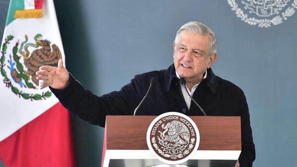 Pedro Sánchez desea a López Obrador pronta recuperación por COVID-19 - López Obrador en SLP antes de dar positivo a COVID-19. Foto de Gobierno de México