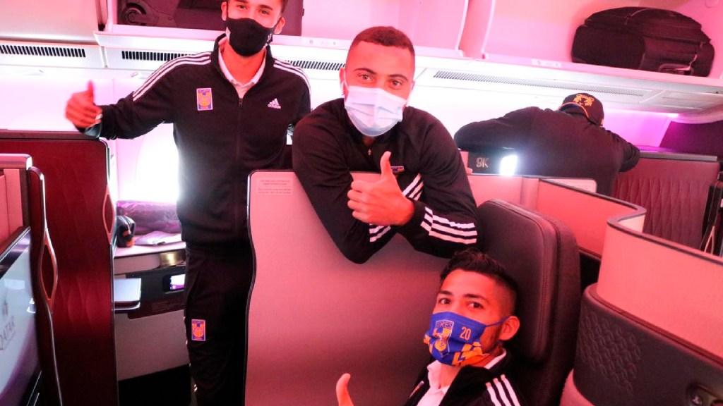 Tigres viajan a Qatar para el Mundial de Clubes - Los Tigres de la UANL viajaron a Qatar para el Mundial de Clubes