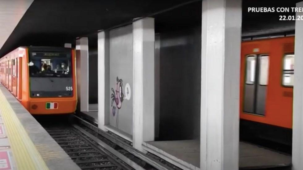 """""""Tengan la certeza de que el lunes restableceremos el servicio en la Línea 1 del Metro"""": Florencia Serranía - Captura de pantalla"""