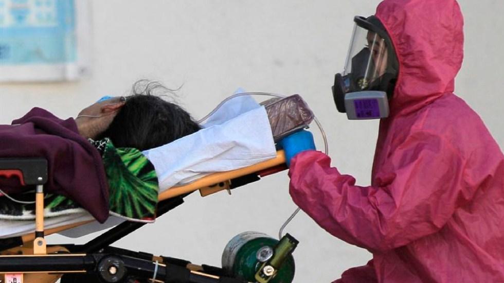 México inicia febrero con un millón 869 mil 708 casos totales y 159 mil 100 defunciones por COVID-19 - México cerca de superar proyección de marzo de Instituto de EE.UU. sobre muertes por COVID-19. Foto EFE
