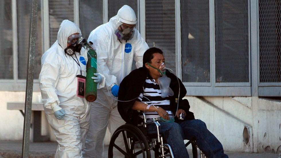 México supera las 150 mil muertes por covid y registra 8 mil 521 nuevos casos - Foto de EFE
