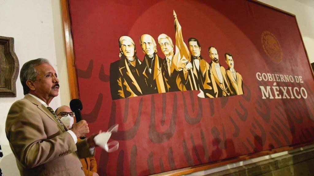 #Video Develan en Culiacán mural con AMLO junto a Héroes de la Patria - Mural de la Cuarta Transformación en Culiacán, Sinaloa. Foto de @AyuntamientoCLN