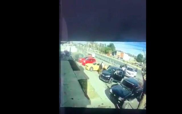 #Video Secuestran a dos integrantes de la Guardia Nacional en Jerez, Zacatecas - Plagian a dos integrantes de la Guardia Nacional en Jerez, Zacatecas. Foto Captura de pantalla