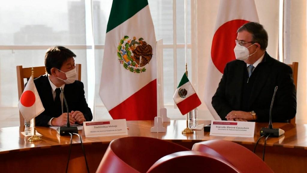 Reafirman México y Japón asociación estratégica para hacer frente a pandemia - Reafirman México y Japón asociación estratégica para hacer frente a pandemia por COVID-19. Foto Twitter @m_ebrard