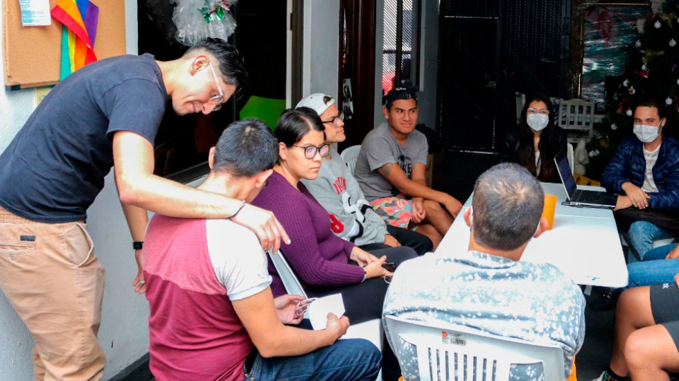 Refugio LGBT Casa Frida resiste adversidades y dignifica la diversidad sexual - Foto de EFE