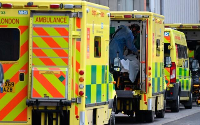 Boris Johnson alerta de que escasea el oxígeno en algunos hospitales - Foto de EFE