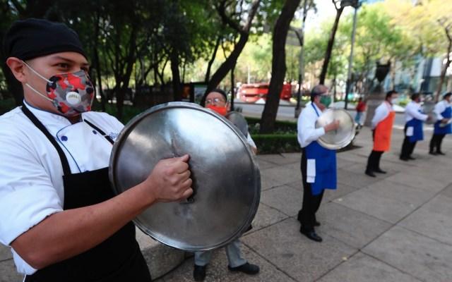 """""""Pedimos que nos dejen trabajar para que nuestras empresas no mueran"""": CEO de Sonora Grill - Foto de EFE"""