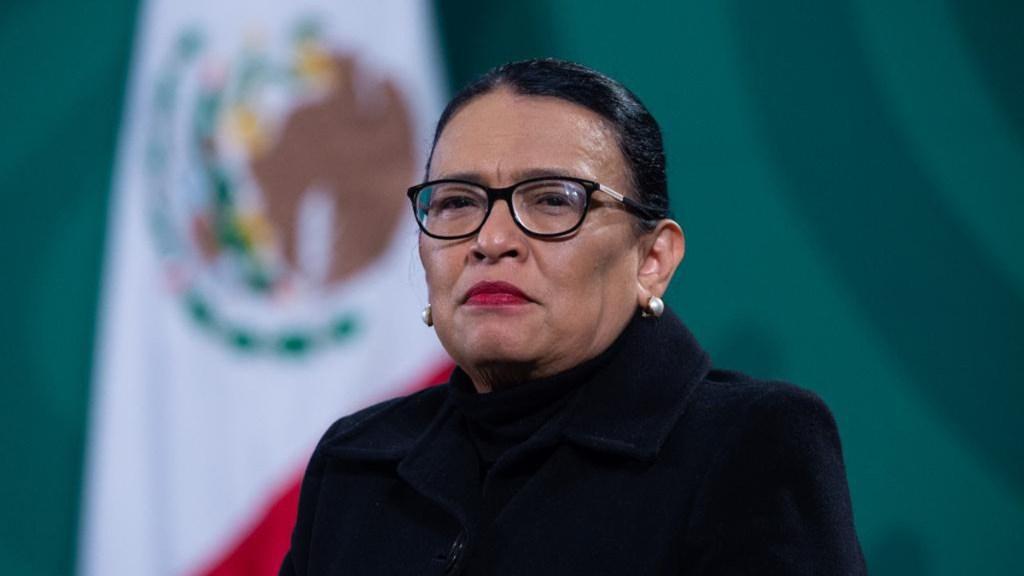 Rosa Icela Rodríguez, secretaria de Seguridad, recibe a presunto líder de mafia rumana - Rosa Icela Rodríguez, secretaria de Seguridad. Foto de Gobierno de México