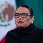 Rosa Icela Rodríguez, secretaria de Seguridad, recibe a presunto líder de mafia rumana