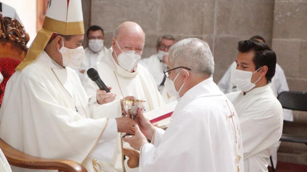 Iglesia pide priorizar vacunación contra COVID-19 de sacerdotes - Sacerdotes de la Arqudiócesis de Tulancingo. Foto de @arquidiocesis.tulancingo